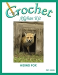 Hiding Fox Crochet Afghan Kit