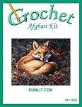 Sunlit Fox Crochet Afghan Kit