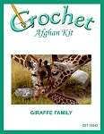 Giraffe Family Crochet Afghan Kit