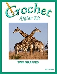 Two Giraffes Crochet Afghan Kit