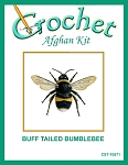 Buff Tailed Bumblebee Crochet Afghan Kit