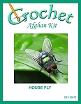 House Fly Crochet Afghan Kit