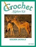 Golden Jackals Crochet Afghan Kit