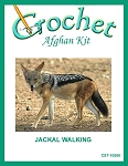 Jackal Walking Crochet Afghan Kit
