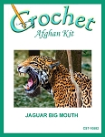 Jaguar Big Mouth Crochet Afghan Kit