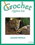 Jaguar Profile Crochet Afghan Kit