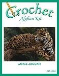 Large Jaguar Crochet Afghan Kit