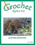 Leopard Whiskers Crochet Afghan Kit