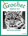 Red Eyed Leopard Crochet Afghan Kit