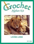 Loving Lions Crochet Afghan Kit