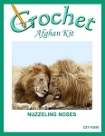 Nuzzeling Noses Crochet Afghan Kit