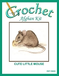 Cute Little Mouse Crochet Afghan Kit