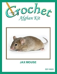 Jax Mouse Crochet Afghan Kit