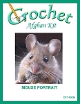 Mouse Portrait Crochet Afghan Kit