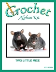 Two Little Mice Crochet Afghan Kit
