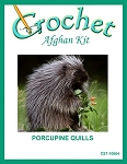 Porcupine Quills Crochet Afghan Kit