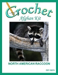North American Raccoon Crochet Afghan Kit
