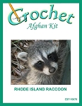 Rhode Island Raccoon Crochet Afghan Kit