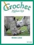 Rhino Love Crochet Afghan Kit