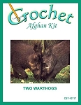 Two Warthogs Crochet Afghan Kit