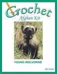 Young Wolverine Crochet Afghan Kit