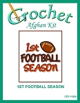1st Football Season Crochet Afghan Kit