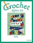 A B C Crochet Afghan Kit
