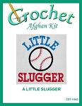 A Little Slugger Crochet Afghan Kit