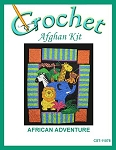African Adventure Crochet Afghan Kit