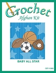 Baby All Star Crochet Afghan Kit