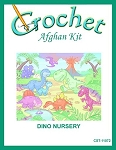 Dino Nursery Crochet Afghan Kit