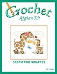Dream Time Giraffes Crochet Afghan Kit