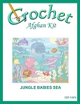 Jungle Babies Sea Crochet Afghan Kit