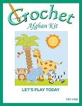 Let's Play Today Crochet Afghan Kit