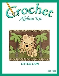 Little Lion Crochet Afghan Kit