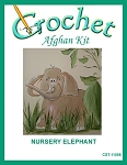 Nursery Elephant Crochet Afghan Kit