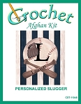 Personalized Slugger Crochet Afghan Kit