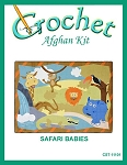 Safari Babies Crochet Afghan Kit