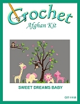 Sweet Dreams Baby Crochet Afghan Kit