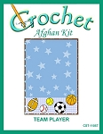 Team Player Crochet Afghan Kit