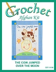 The Cow Jumped Over The Moon Crochet Afghan Kit