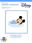 Baby Mickey Clouds Crochet Afghan Kit