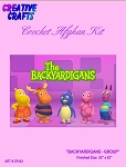 Backyardigans Group Crochet Afghan Kit