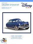 Cars - Doc Hudson Crochet Afghan Kit