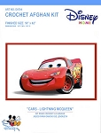 Cars - Lightning McQueen Crochet Afghan Kit