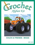 Chuck & Friends - Biggs Crochet Afghan Kit