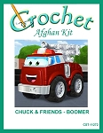 Chuck & Friends - Boomer Crochet Afghan Kit