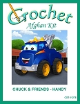 Chuck & Friends - Handy Crochet Afghan Kit