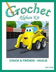 Chuck & Friends - Haulie Crochet Afghan Kit
