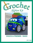 Chuck & Friends - Suko Crochet Afghan Kit